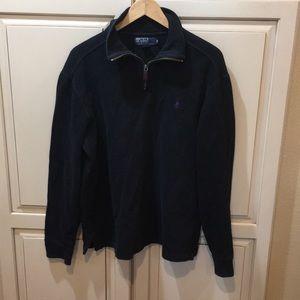 Polo quarter zip sweatshirt sweater m